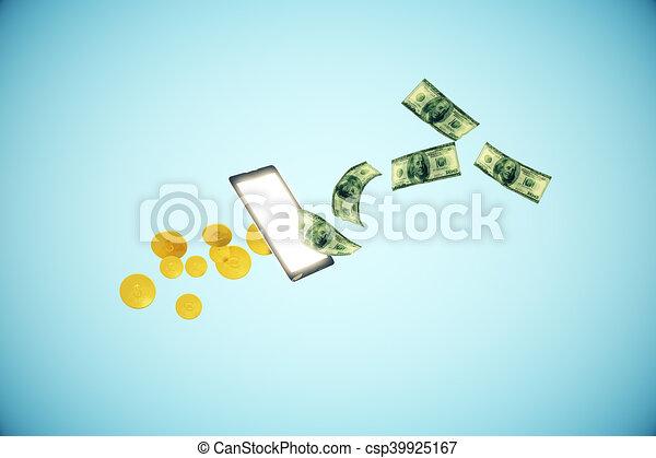 Online banking concept - csp39925167