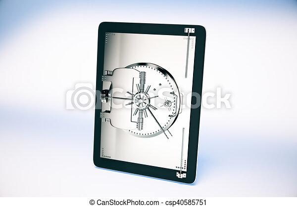 Online banking concept - csp40585751