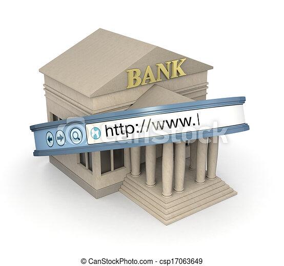 online banking - csp17063649