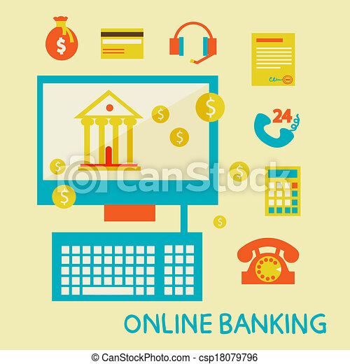 Online banking - csp18079796