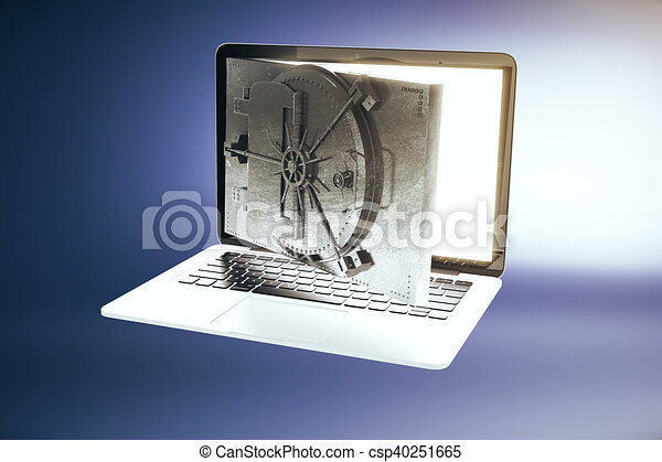 Online banking - csp40251665