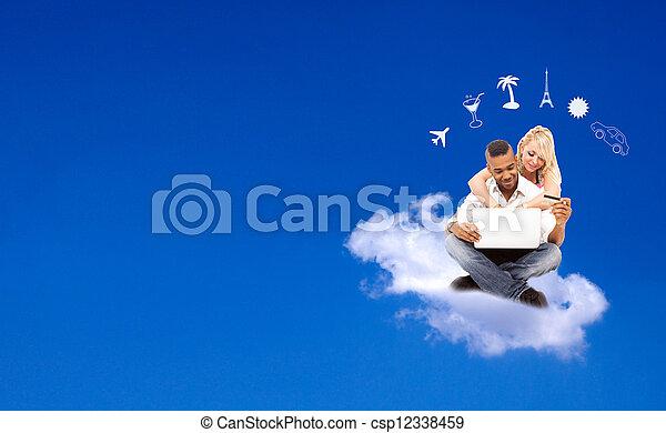 Online Booking - E-commerce - csp12338459