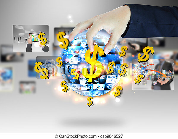 Online business - csp9846527