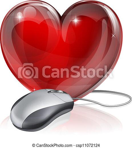 Online dating concept - csp11072124