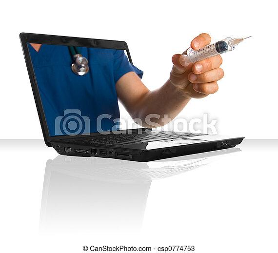 Online Doctor - csp0774753