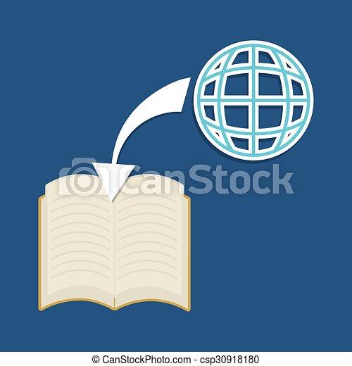 Online education - csp30918180