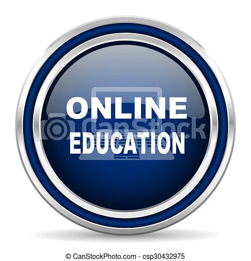 online education icon - csp30432975
