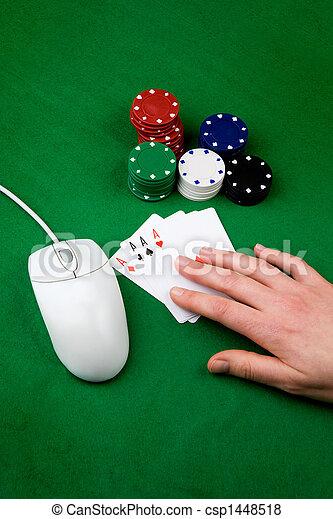 Online Gamble - csp1448518