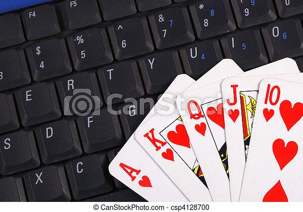 Online gambling - csp4128700