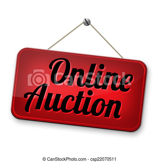 online internet auction online auction bidding buy or sell on the rh canstockphoto com action clip art action clip art