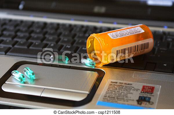 Online Medication - csp1211508