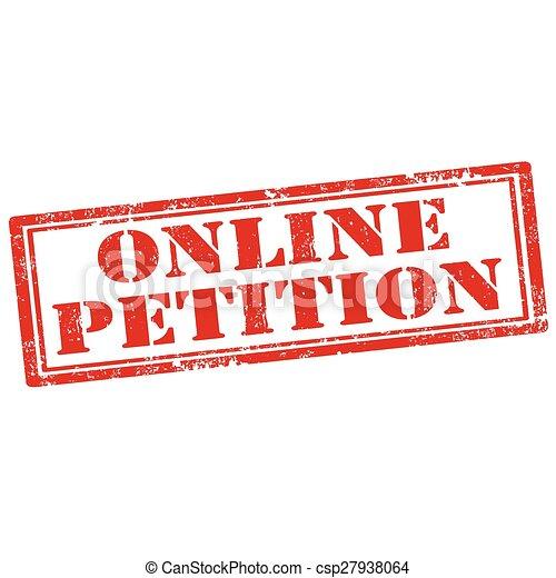 Online Petition - csp27938064