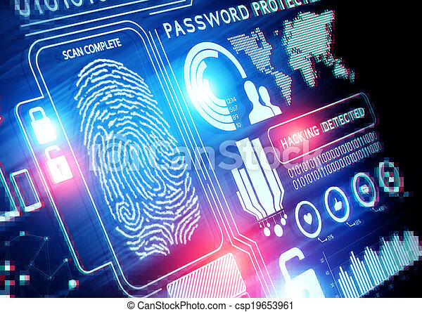 Online Security Technology - csp19653961