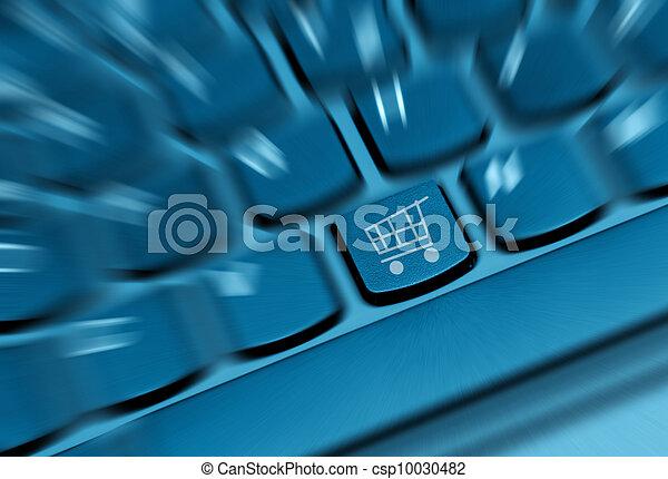 Online Shopping Concept - csp10030482