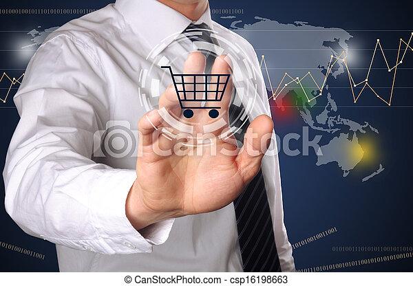 online shopping - csp16198663