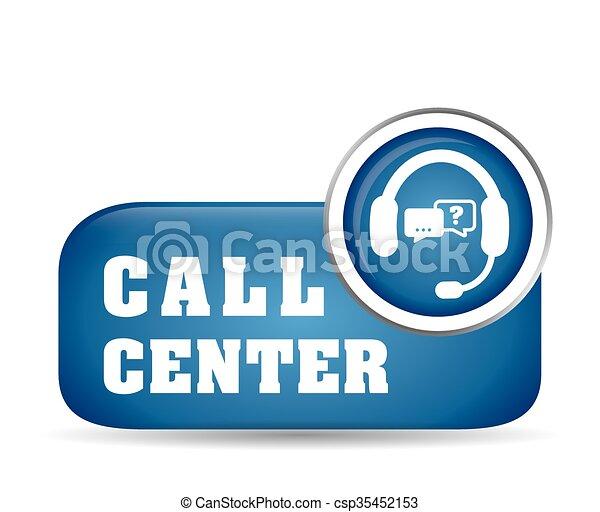 Online Support and headphones design - csp35452153