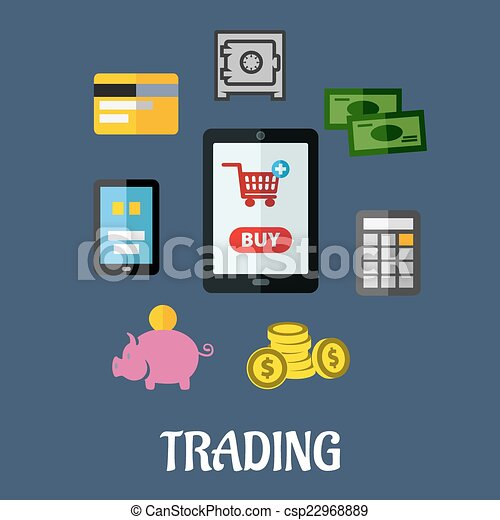 In options trading what is a flat lin e