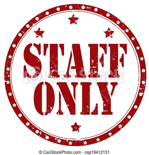 only-stamp, προσωπικό  - csp19412131