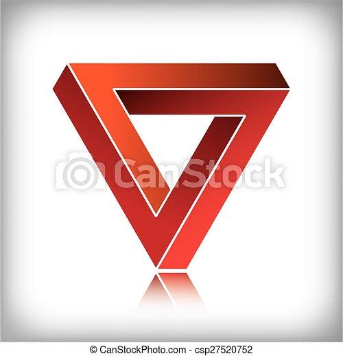 onmogelijk, driehoek - csp27520752