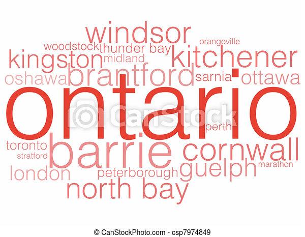Ontario - csp7974849