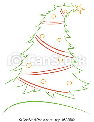ontwerp, kerstmis - csp10893580