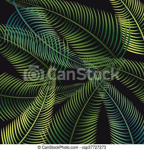 ontwerp, palm vel, achtergrond - csp37727273
