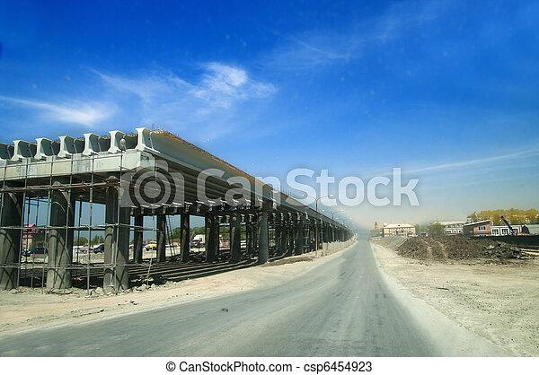 ontwikkeling, snelweg - csp6454923