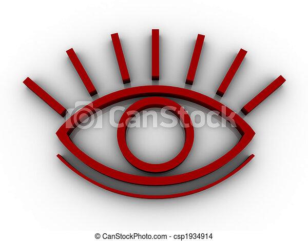 oog, stylised - csp1934914