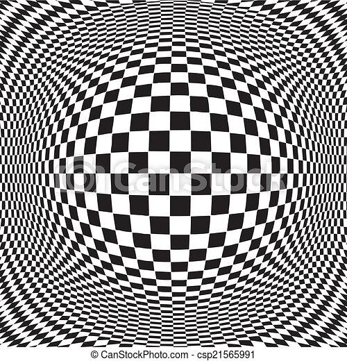 Op Art Design Pattern  - csp21565991