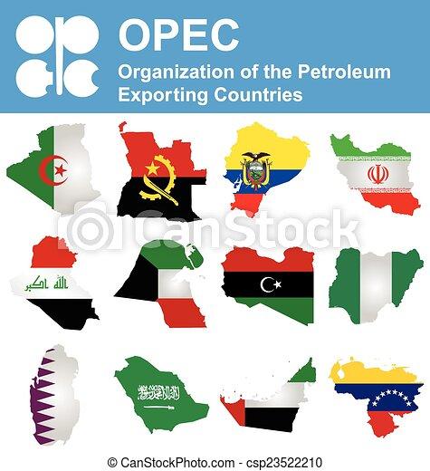 OPEC Countries - csp23522210