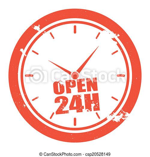 open 24h - csp20528149