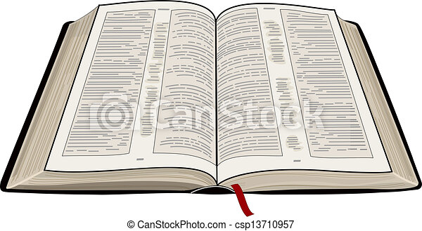 open bible a vector illustration of an open bible clipart rh canstockphoto com bible clipart for children open bible clipart