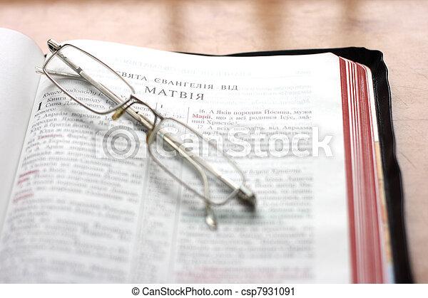 Open Bible - csp7931091