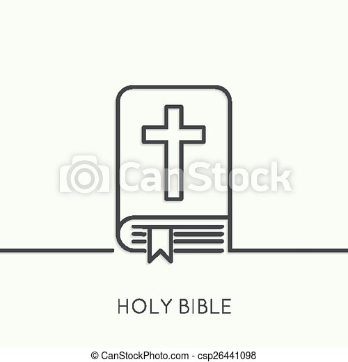 Open Bible With A Crucifix Bible With A Crucifix Symbols Of