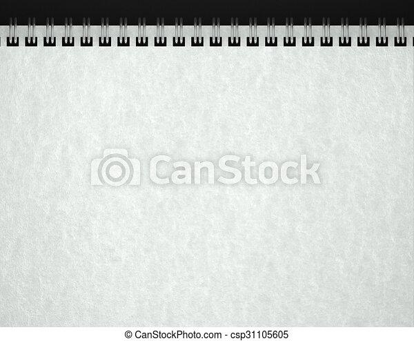 open blank notebook paper texture 3d open blank notebook paper