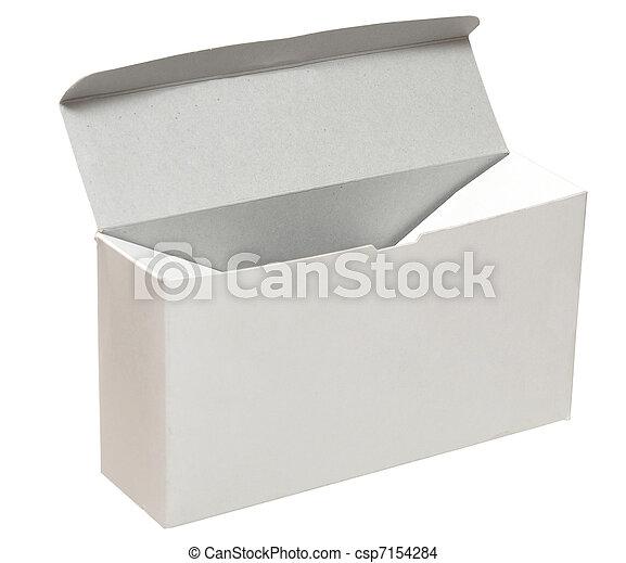 open blank white box  - csp7154284