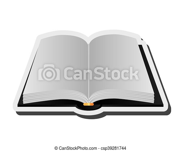 flat design open book icon vector illustration eps vector search rh canstockphoto com open book graphics free