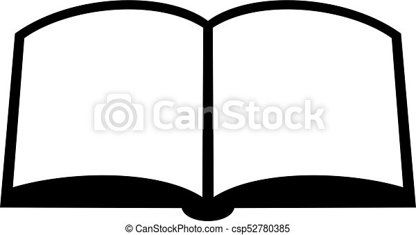 open book icon open book shade picture vector search clip art rh canstockphoto com open book graphic images