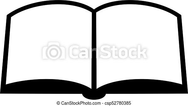 open book icon open book shade picture vector search clip art rh canstockphoto com  open book graphic vector