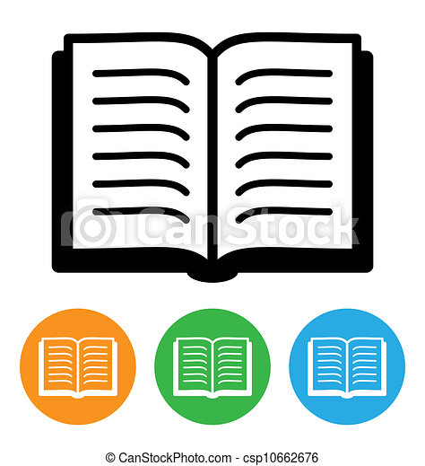 open book icon isolated on white vectors illustration search rh canstockphoto com