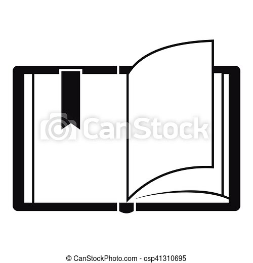 open book icon simple style open book icon simple illustration of rh canstockphoto com book vector icon free open book vector icon