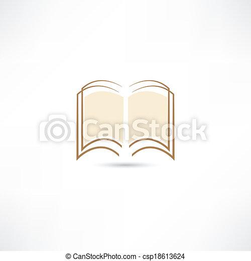 Open book - csp18613624
