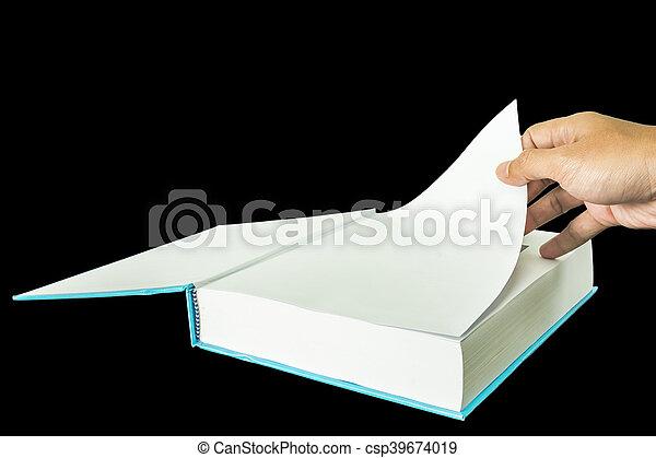 open book - csp39674019