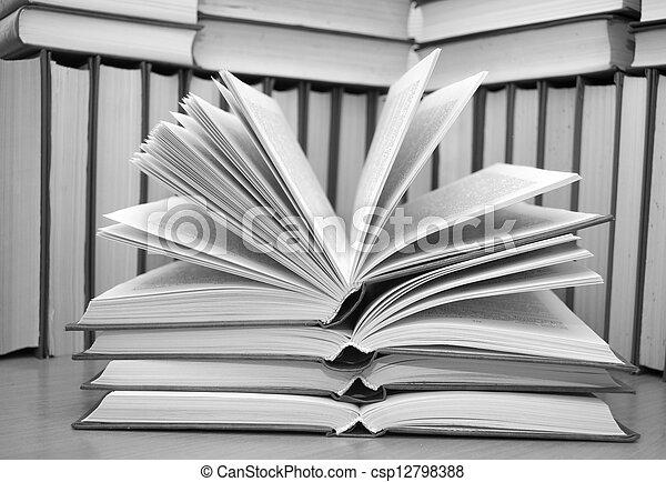 open book - csp12798388