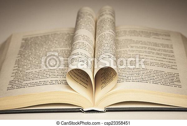 Open book - csp23358451