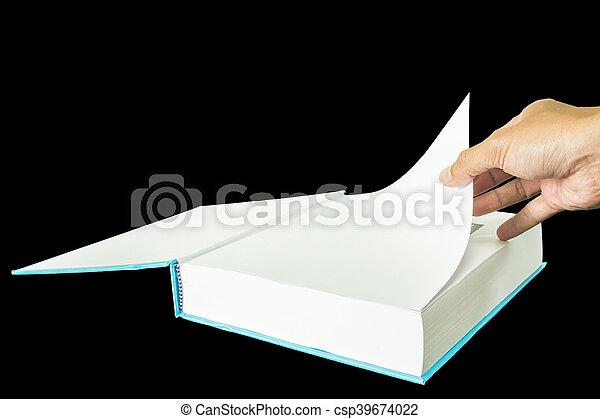 open book - csp39674022