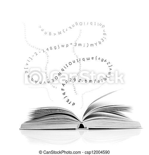 Open book - csp12004590