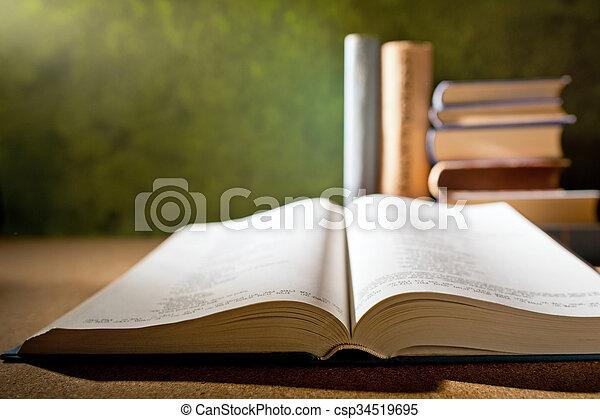open book - csp34519695