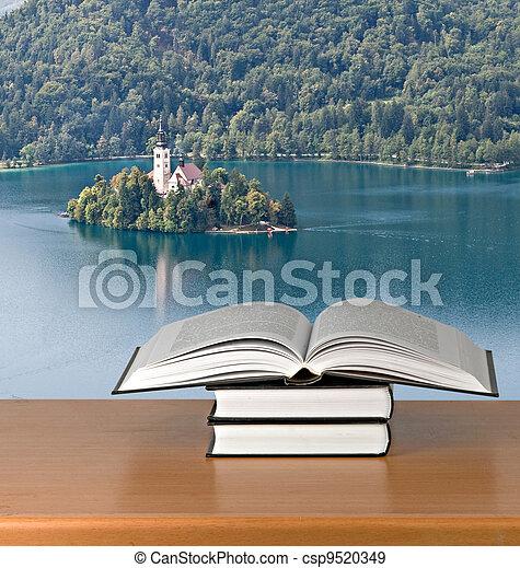 Open book - csp9520349