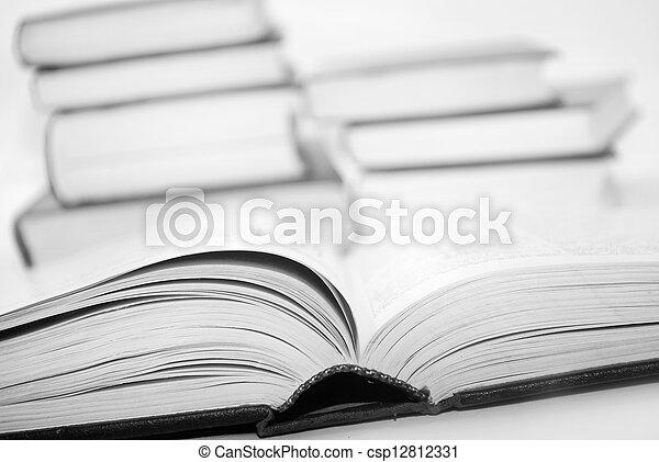 open books - csp12812331